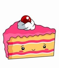 картинка тортик для срисовки
