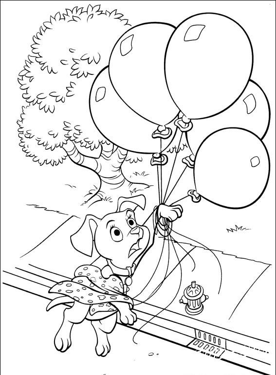детские раскраски онлайн 102 далматинца