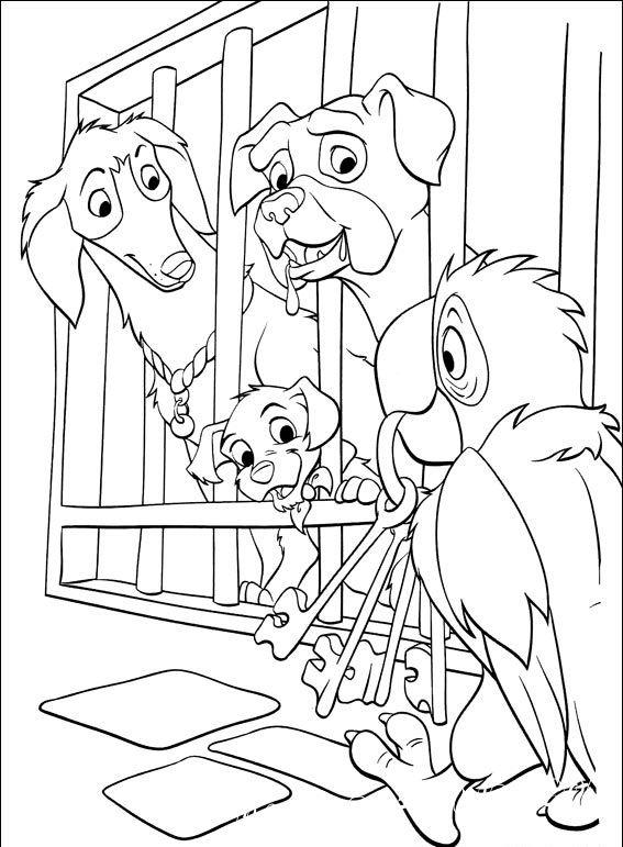 скачать раскраски собачки далматинцы