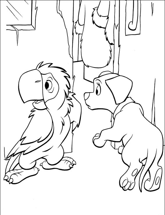 раскраски онлайн для детей далматинцы