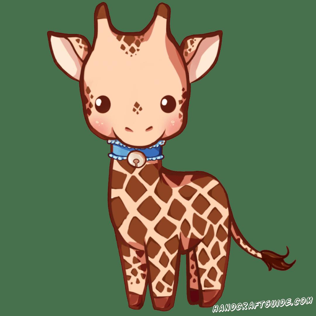 милые срисовки жираф