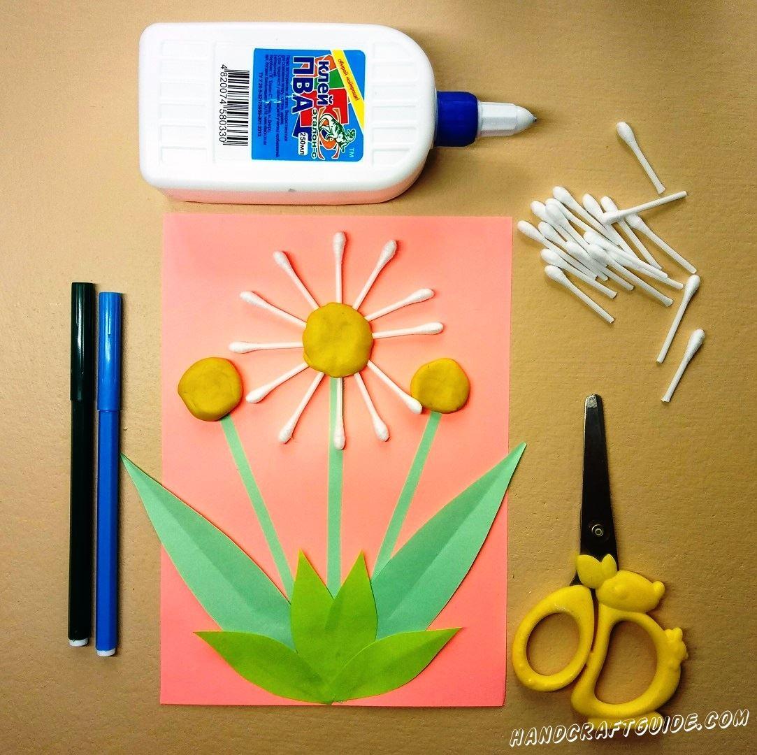 поделки из подручных материалов цветы