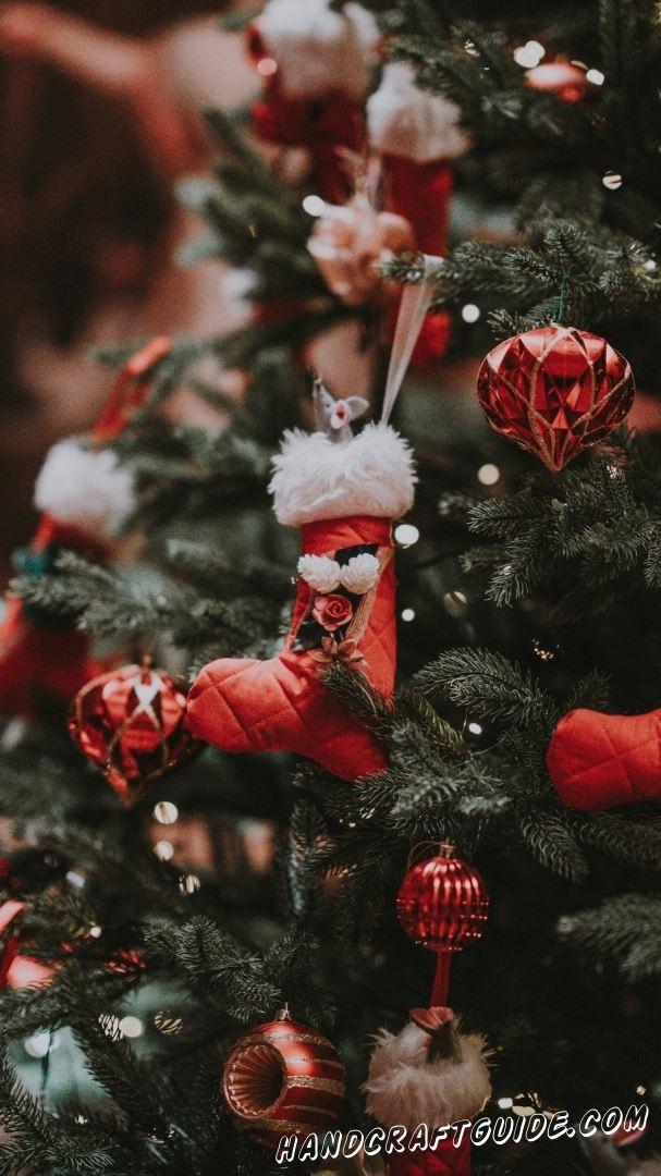 обои новогодняя елка