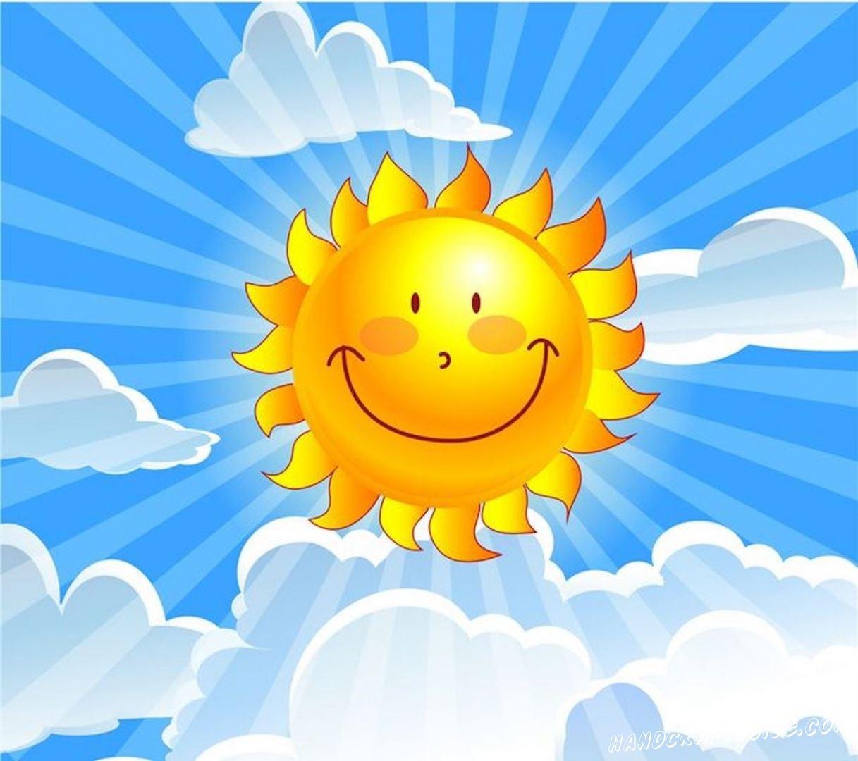 картинки для начинающих солнце