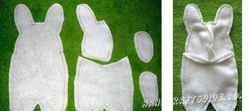 как сшить мягкую игрушку кролика своими руками