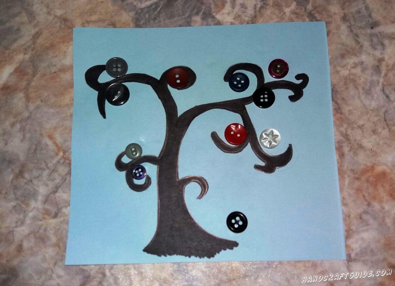 Давайте вместе сделаем это красивое дерево, прямо у себя дома.