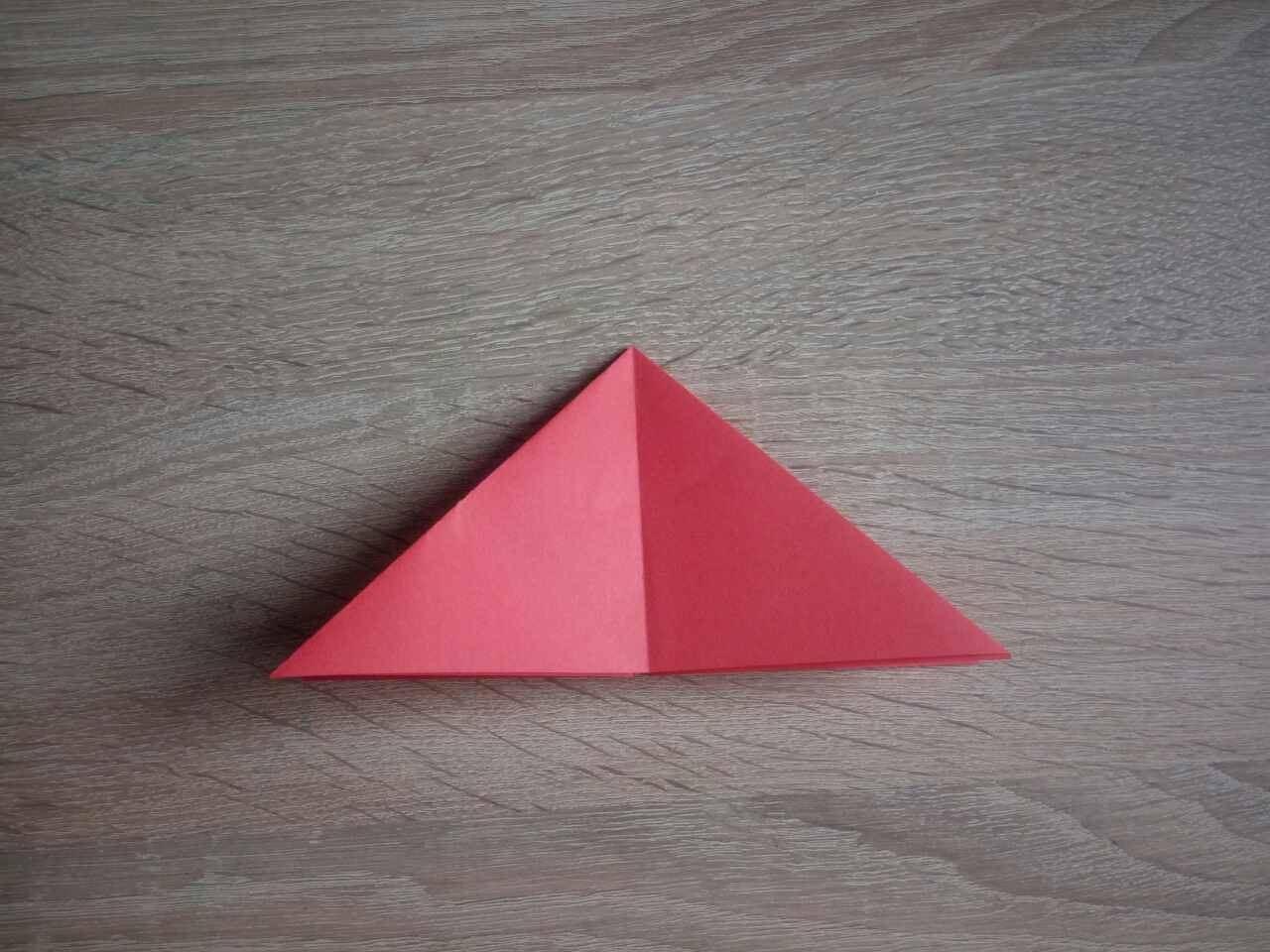 Загибаем углы, делая треугольник
