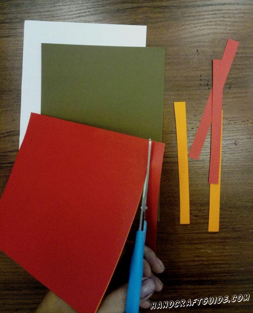 аппликация из цветной бумаги своими руками