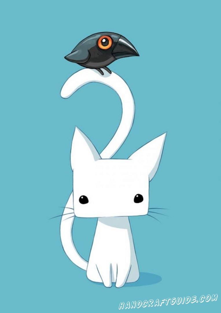 картинка котик для лд
