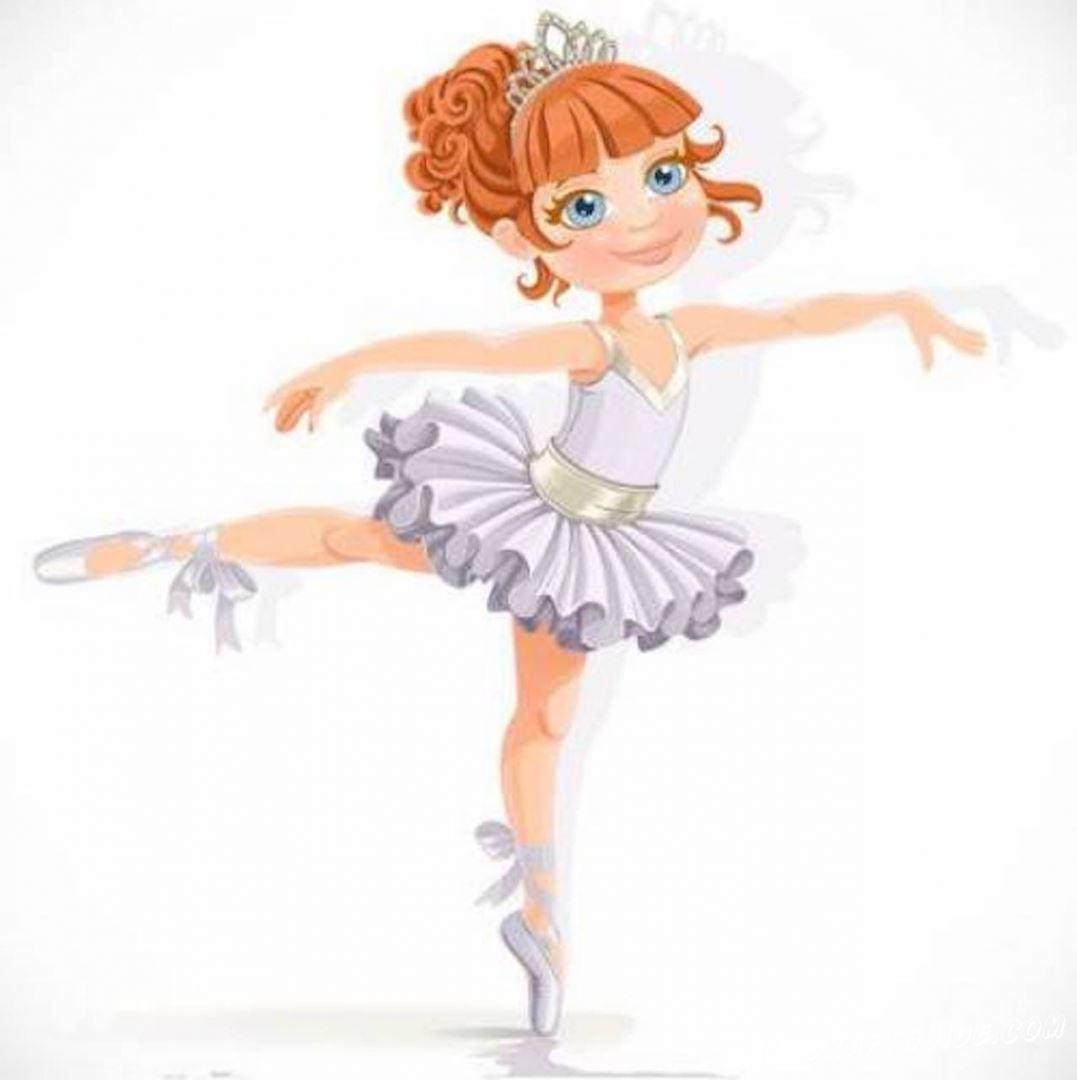 картинка балерина для девочек