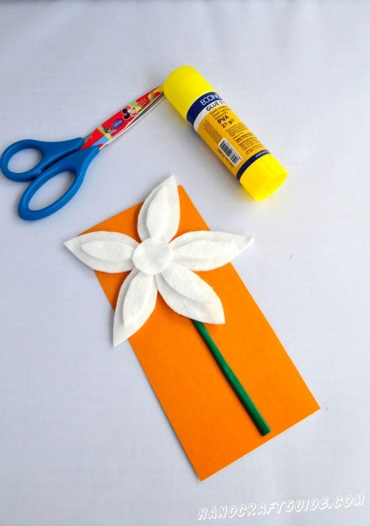 как сделать цветок из ватных дисков