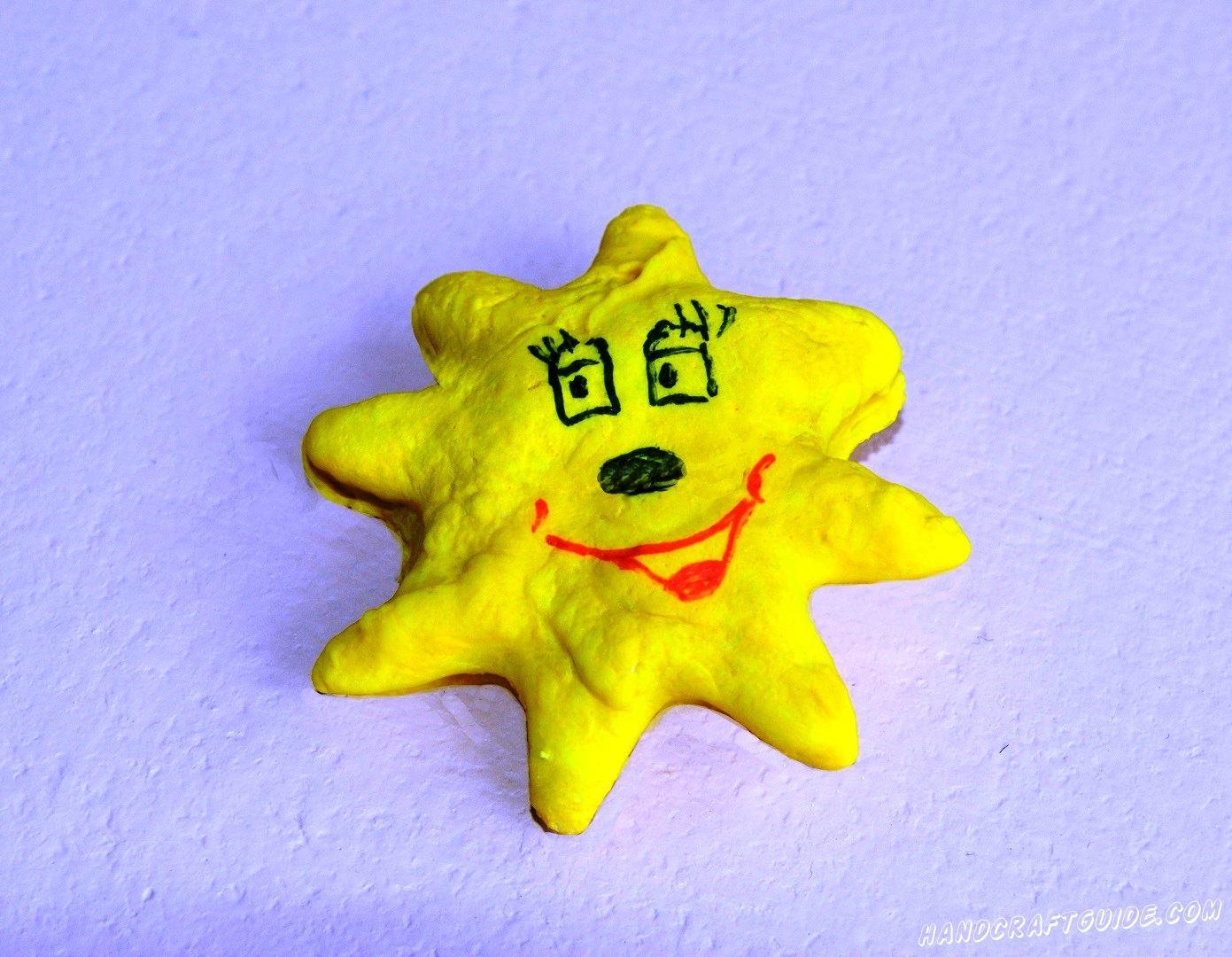 звезда из солёного теста