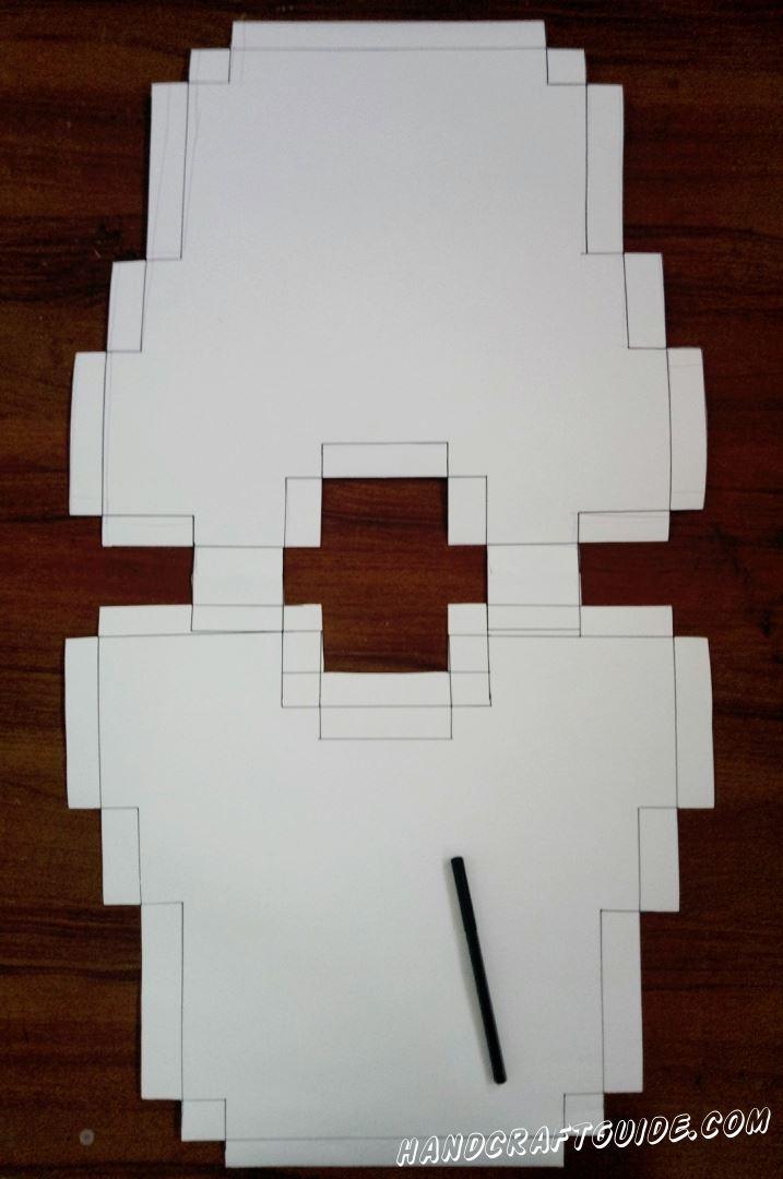 Делаем контуры с помощью карандаша