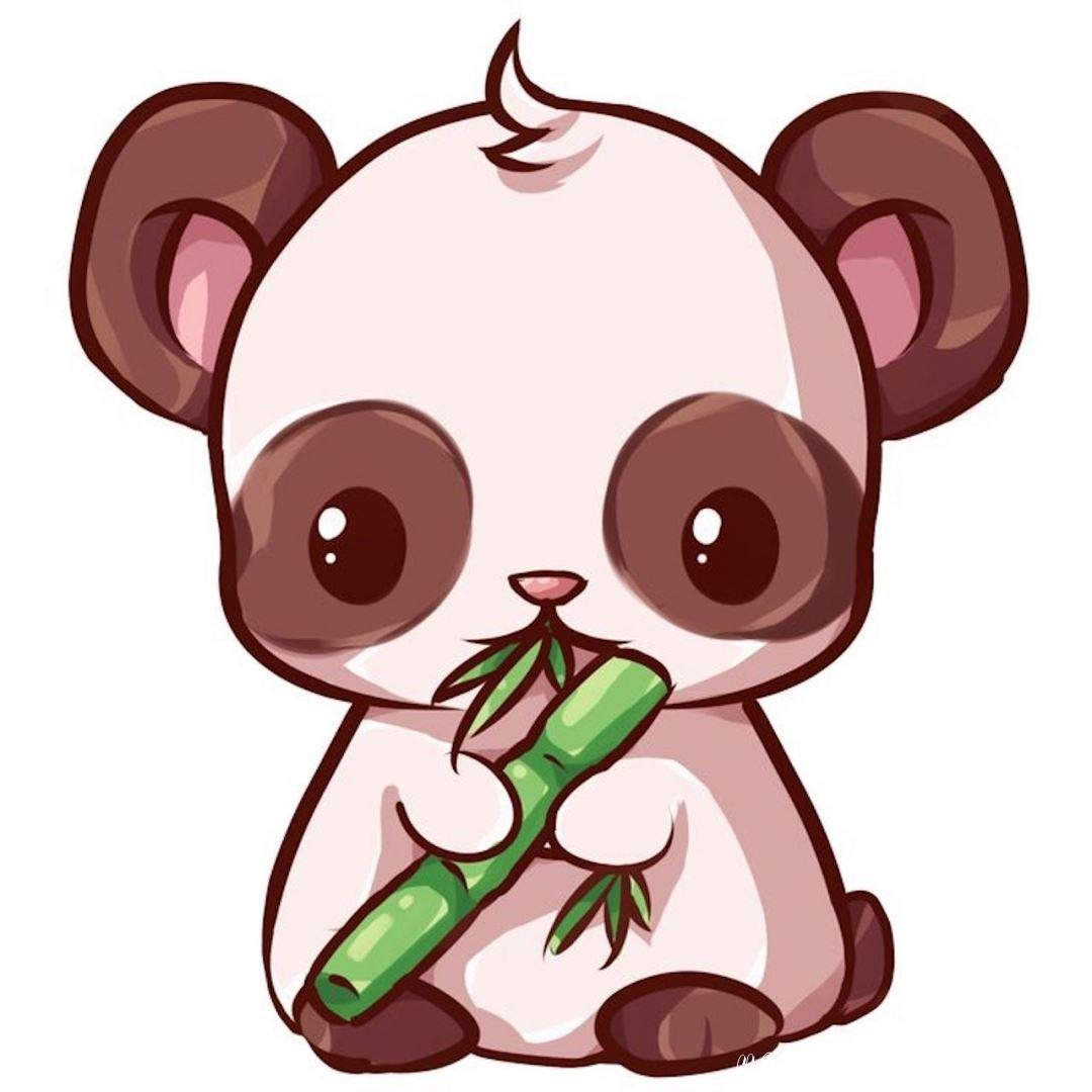 картинка панды для скетчбука