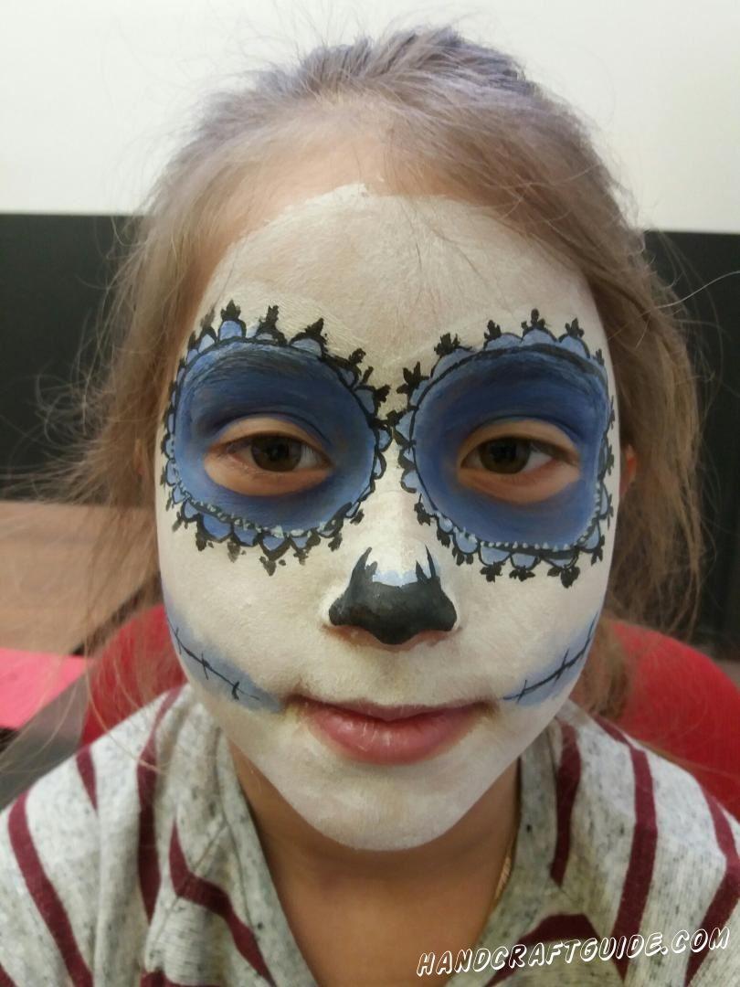 аквагрим для детей на лице