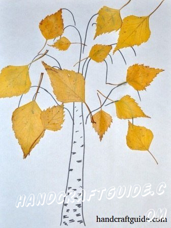 Ideas For Crafts On Autumn Crafts Of Natural Material Autumn For