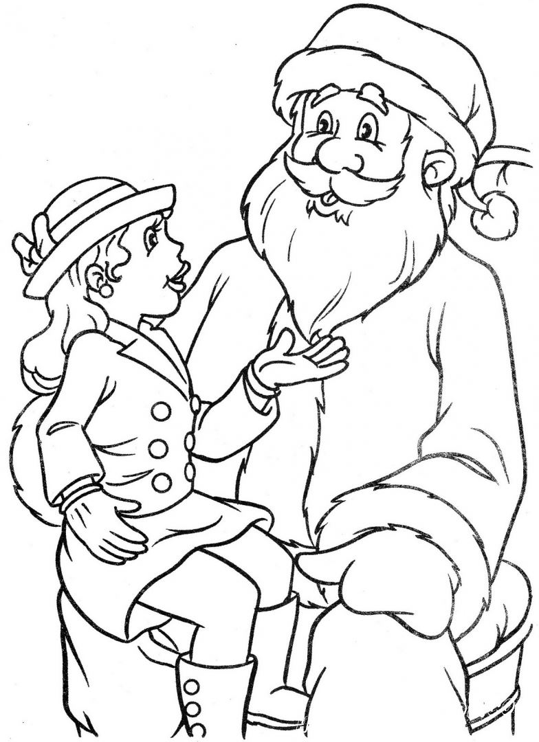 Christmas 4 - Coloring Pages, New Year's and Christmas ...