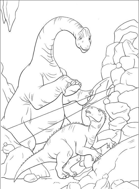 раскраски динозавры онлайн