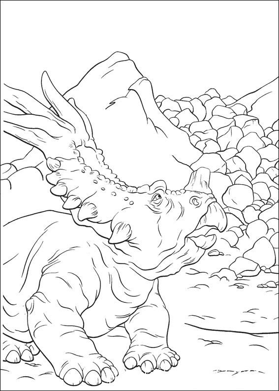 раскраски распечатать динозавры