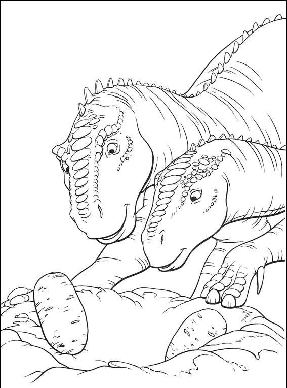 детские раскраски динозавры