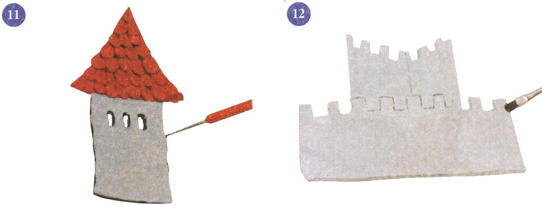 как сделать подарок из соленого теста дракон на 23-е февраля