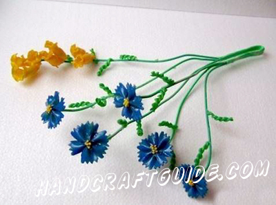 цветы для детей своими руками