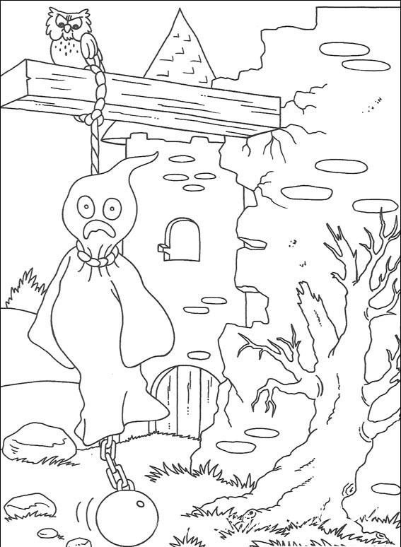 раскраски для печати хэллоуин