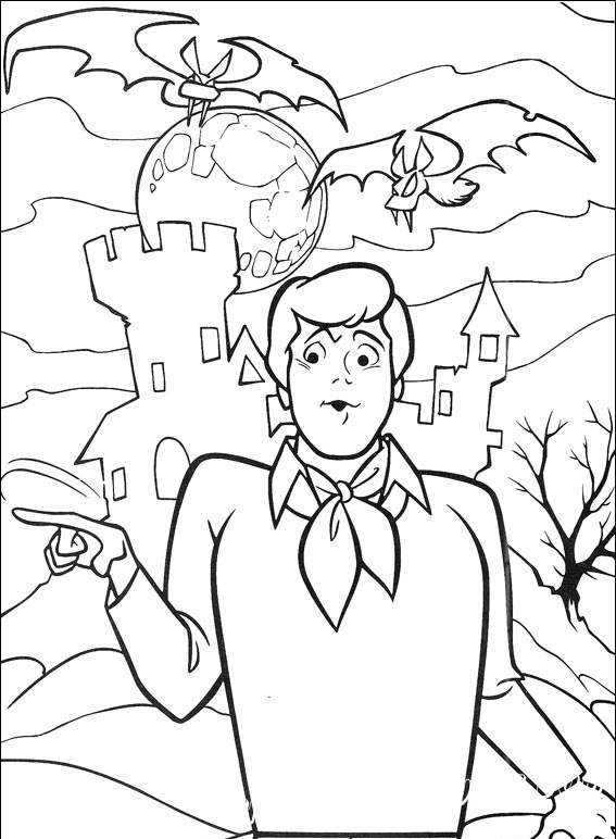 Scooby-Doo part 3 - Coloring Pages, Cartoons, for 6 years ...