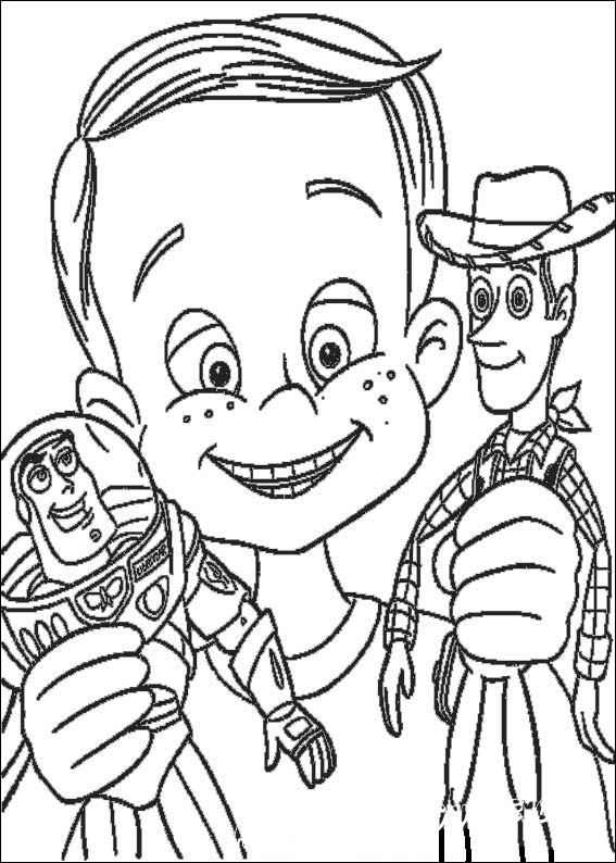 раскраски куклы история игрушек