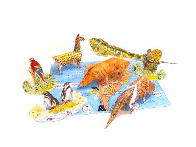 паперкарфт животные