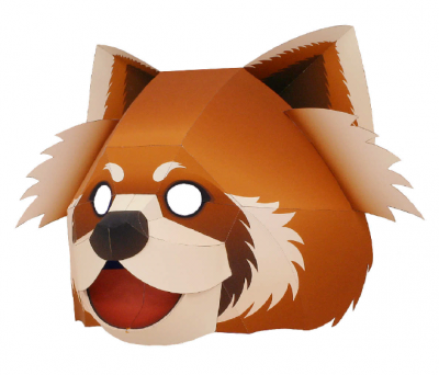 Lesser panda(mask)