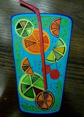 поделка из цветной бумаги для детей в школу своими руками, украшение на детскую вечеринку