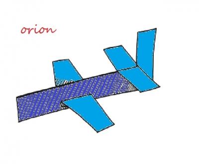 """Настоящий истребитель """"Орион"""" из бумаги мы можем сделать своими руками. Осталось только скачать и следовать пошаговой инструкции."""