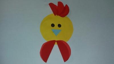 Прямо сейчас мы начинаем делать замечательно цыплёнка из цветной бумаги, так что скорее присоединяйтесь к нам.