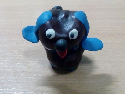 Пополни коллекцию игрушек, такой красивой собачкой из каштанов, сделанной своими руками.
