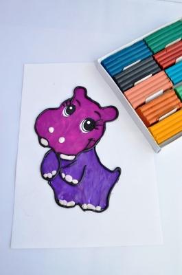 Давайте вместе порисуем! Но не спешите хватать краски, фломастеры и карандаши, ведь рисовать мы будем пластилином.
