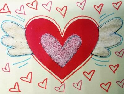 открытка своими руками с любовью