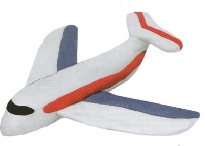 самолёт из пластилина своими руками