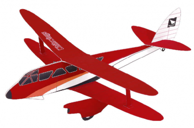 Biplane: Pattern(red)