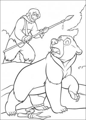 Наш любимый братец медвежонок в подборке раскрасок, специально для вас. Скачать самые интересные эпизоды мультфильма одним файлом, можно прямо сейчас.