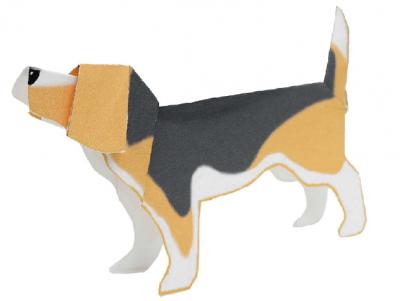 паперкрафт для детей собака