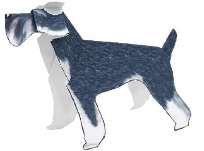 оригами для детей собака
