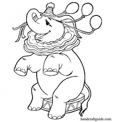 """Set colorings dedicated to the animated film """"Dumbo"""""""