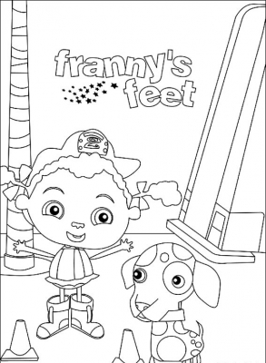 Franny's Feet is a Canadian/American animated series for children created by Cathy Moss and Susin Nielsen.
