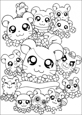 The series revolves around an anthropomorphic hamster named Hamtaro, who is owned by a 10-year-old girl named Hiroko Haruna (Laura Haruna in the English dub). Curious by nature, he ventures out each day to make friends and go on adventures with a clan of fellow hamster friends known as The Ham-Hams. The Ham-Hams meet at a special clubhouse built by Boss.