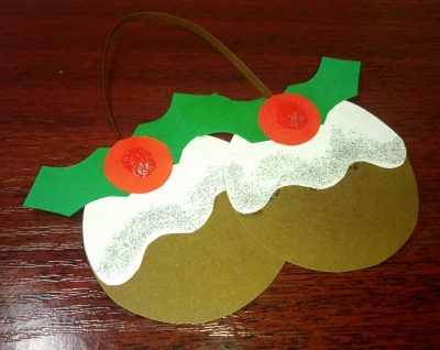 Укрась свою новогоднюю ёлочку, вот такой вот бумажной игрушкой, сделанной своими руками.