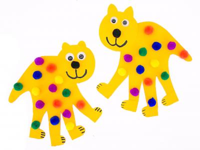 поделки из детских ладошек