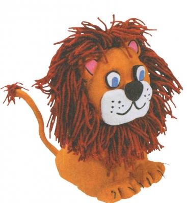 мастер-класс поэтапно льва из соленого теста своими руками