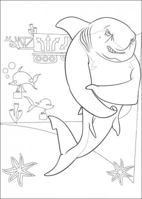 раскраски подводная братва