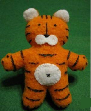 игрушка тигра своими руками